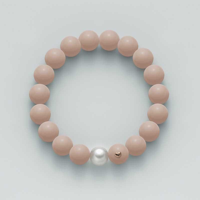 più economico 6ee8b 06b5b Bracciale Miluna PBR2084 corallo rosa