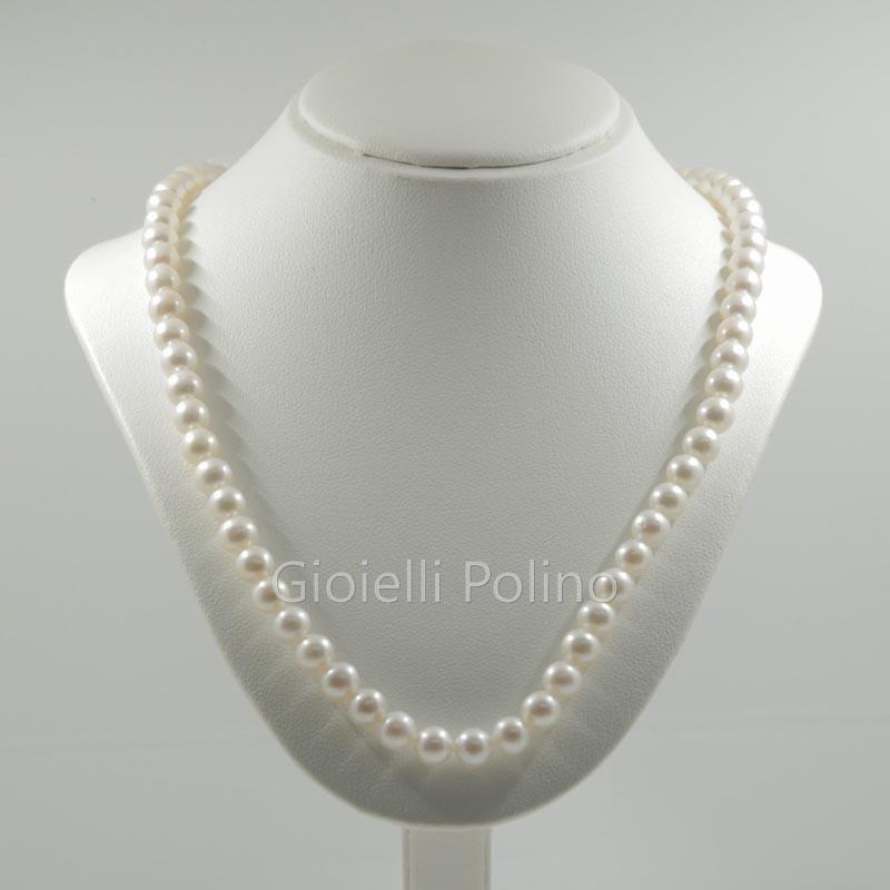100% autentico c32c6 61e73 Collana Miluna 1MPE775_41NL566 in filo di perle 7-7,5 da 41cm